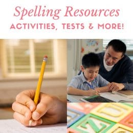25 Amazing Free Spelling Resources – Activities, Tests, & More!