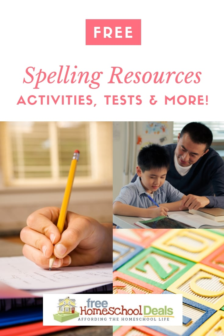 Free Spelling Resources - Activities, Tests, & More