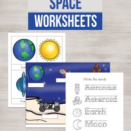 FREE Space Worksheets and Printables