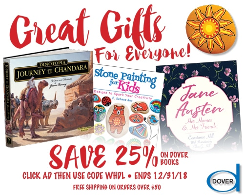 SAVE 25% on Great Gifts for Everyone from Dover!