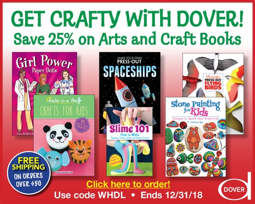 SAVE 25% and Get Crafty with Dover!