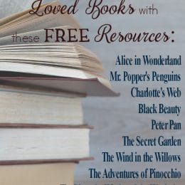 FREE Best Loved Books Unit Studies and Printables
