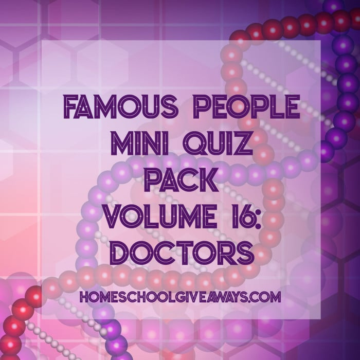 free famous people mini quiz pack: doctors