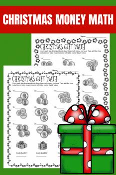 FREE Christmas Money Math Printables