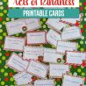 FREE Acts of Kindness Printable Cards