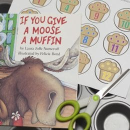 FREE If You Give a Moose a Muffin Math Activity