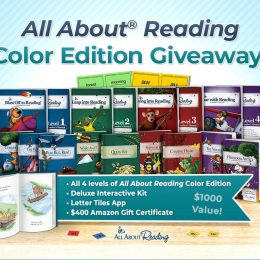 $1,000 All About Reading Color Edition Giveaway!