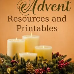 Celebrate the leadup to Christmas with these FREE Advent Resources and Printables! #fhdhomeschoolers #freehomeschooldeals #advent #homeschoolers #hsmoms