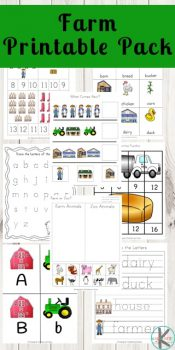 FREE Farm Worksheets Printable Pack