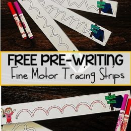 FREE Camping Tracing Strips
