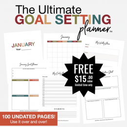FREE Ultimate Goal Setting Planner