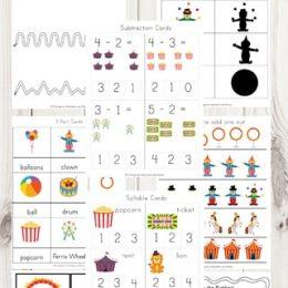 FREE Circus Fun Printable Pack