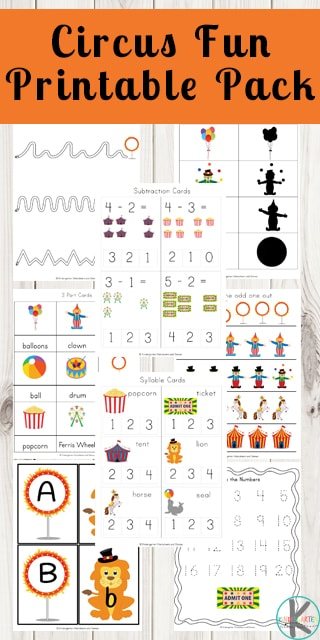 graphic regarding Circus Circus Coupons Printable identify No cost Circus Enjoyment Printable Pack Cost-free Homeschool Discounts ©