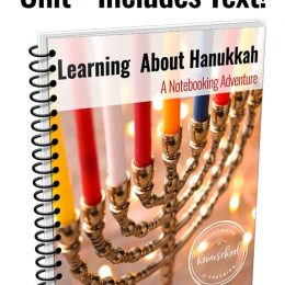 FREE Hanukkah Notebooking Unit