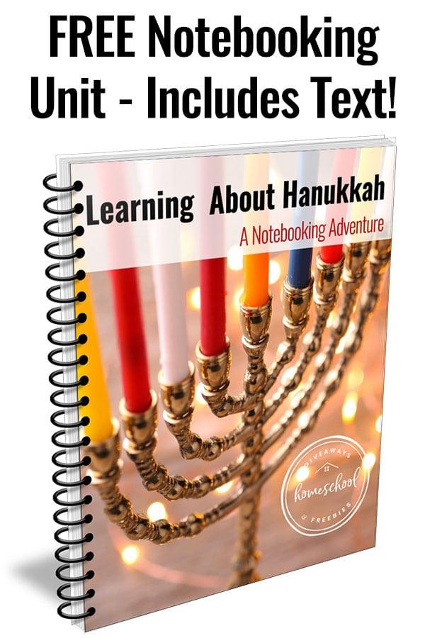 FREE Hanukkah Notebooking Unit