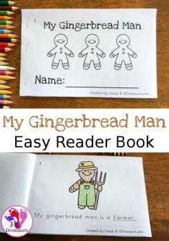 FREE My Gingerbread Man Easy Reader