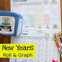 FREE New Year's Eve Roll & Graph