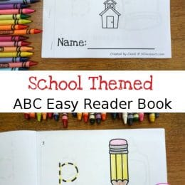 FREE School-Themed ABC Easy Reader