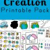 Days of Creation Printable Pack (FREE until 1/31/19!)