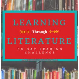 FREE 30-Day Reading Through Literature Challenge