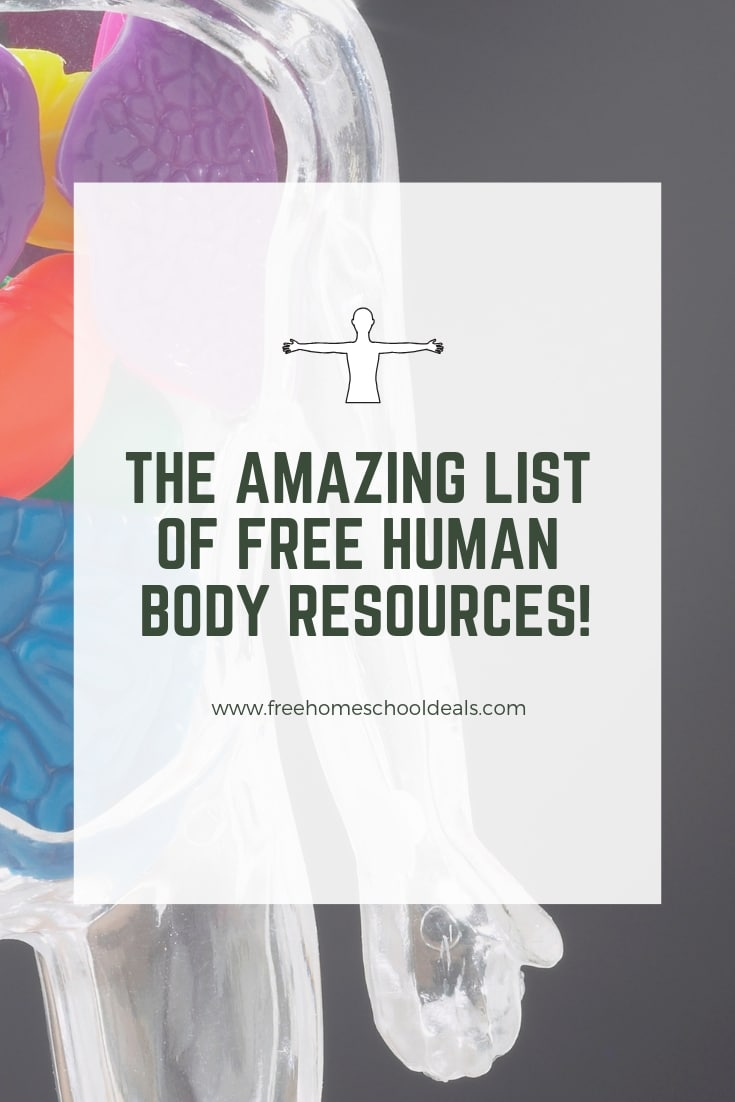 The Amazing List of FREE Human Body Resources!
