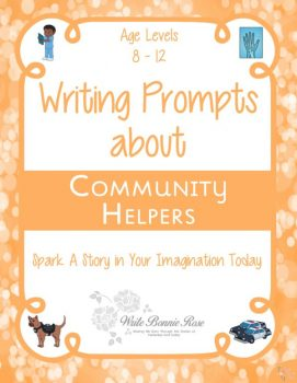 FREE Writing Prompts about Community Helpers