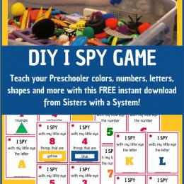 FREE DIY I Spy Game