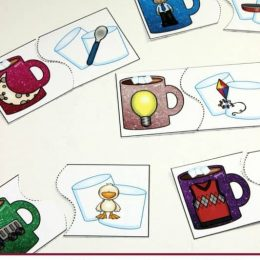 FREE Winter Rhyming Puzzles
