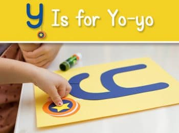 FREE Y is for Yo-yo Craft