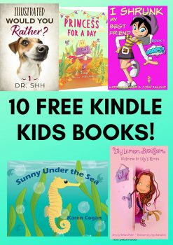 10 FREE Kindle Kids Books!