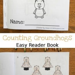 FREE Counting Groundhogs Easy Reader