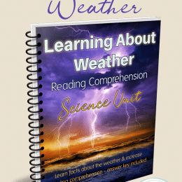 FREE Weather Reading Comprehension Science Unit