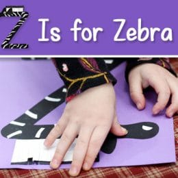 FREE Z is for Zebra Craft