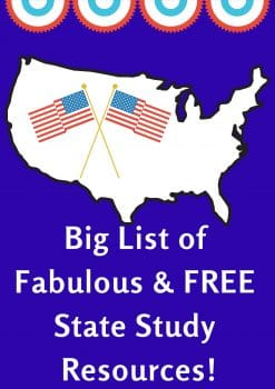 Big List of Fabulous & FREE State Study Resources!