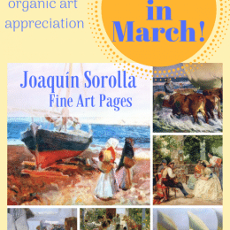 FREE Joaquin Sorolla Fine Art Pages (March only!)