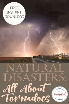 FREE Worksheets: All About Tornadoes