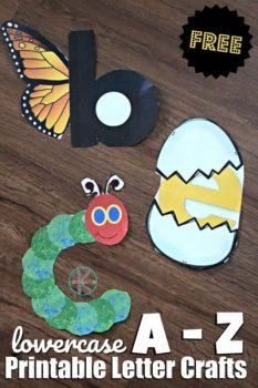 FREE & Easy Alphabet Crafts