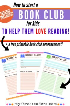 How to Lead a Kids' Book Club FREE Tips + more!