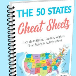The 50 States FREE Cheat Sheets!