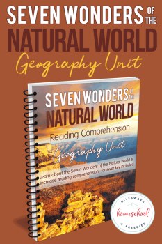 FREE Seven Wonders of the Natural World Reading Comprehension