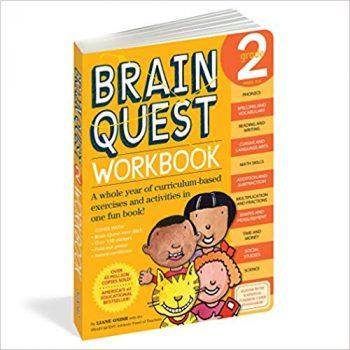 Amazon Deal: Brain Quest Workbook, Grade 2 (23% off!)