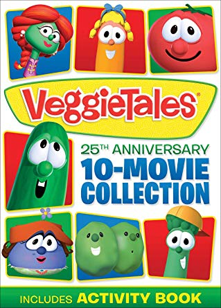 Amazon Deal: Veggie Tales 25th Anniversary 10-Movie Collection (50% off!)