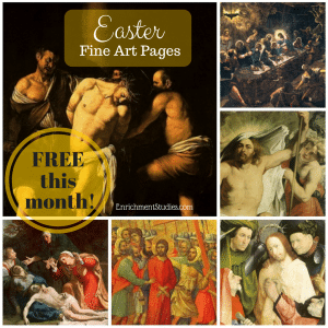 FREE Easter Fine Art Pages