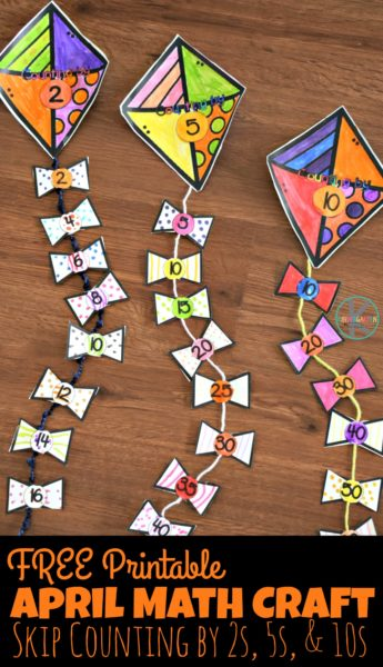 FREE April Math Craft Free Homeschool Deals