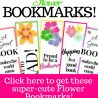 FREE Printable Flower Bookmarks
