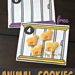 FREE Animal Cookies Counting Activity