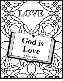 New Life John 10:10b Coloring Page - Whats in the Bible | 280x216