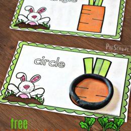 FREE Carrot Shape Mats