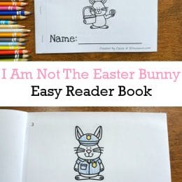 FREE I Am Not the Easter Bunny Easy Reader