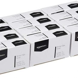 Amazon Deal: 23% Off Small Binder Clips (144-count)